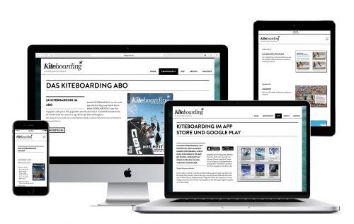Kiteboarding.eu Website Relaunch