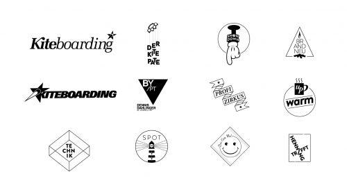 Typomarken, Signets und Logos